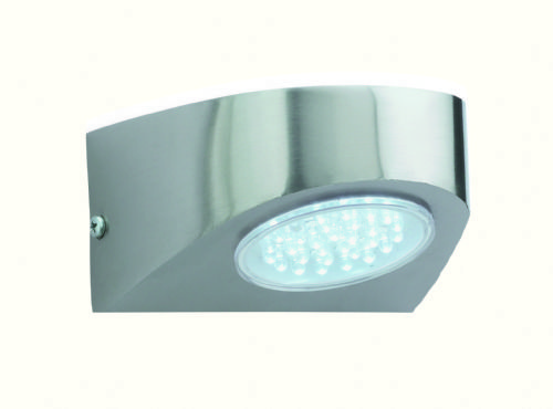 Firstlight 4215ST Stainless Steel with White LED's Pisa Outdoor LED Wall Light
